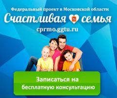 Федеральный проект вМосковской области «Счастливая семья»